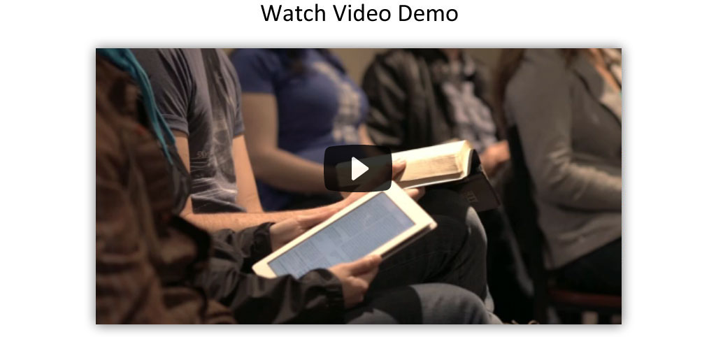 Bible and Journal App Video Demo